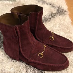 GUCCI SHOES - SUEDE